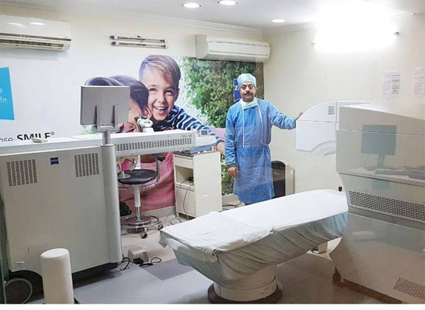 Bajaj Eye Care Center Announces Smile Lasik Eye Surgery with Fast Recovery